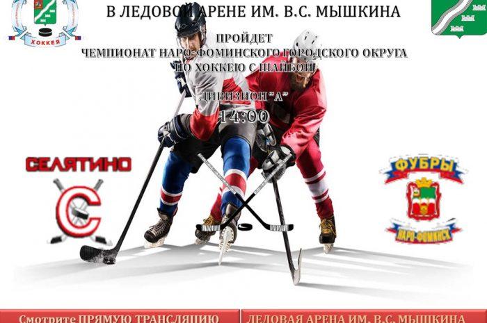 Чемпионат по хоккею с шайбой 26 января в 14:00